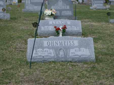 OHNMEISS, RUBY - Lycoming County, Pennsylvania | RUBY OHNMEISS - Pennsylvania Gravestone Photos