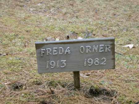 ORNER, FREDA - Lycoming County, Pennsylvania | FREDA ORNER - Pennsylvania Gravestone Photos