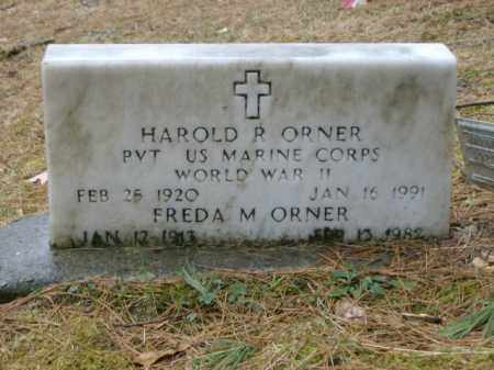 ORNER, HAROLD - Lycoming County, Pennsylvania   HAROLD ORNER - Pennsylvania Gravestone Photos
