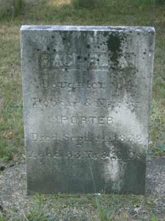 PORTER, RACHEL - Lycoming County, Pennsylvania | RACHEL PORTER - Pennsylvania Gravestone Photos