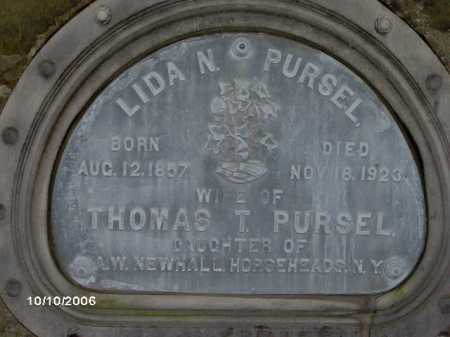 PURSEL, LIDA - Lycoming County, Pennsylvania | LIDA PURSEL - Pennsylvania Gravestone Photos