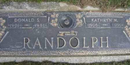 RANDOLPH, DONALD - Lycoming County, Pennsylvania | DONALD RANDOLPH - Pennsylvania Gravestone Photos