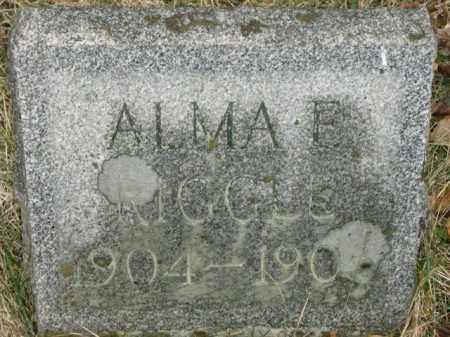 RIGGLE, ALMA - Lycoming County, Pennsylvania   ALMA RIGGLE - Pennsylvania Gravestone Photos