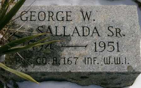 SALLADA, GEORGE - Lycoming County, Pennsylvania | GEORGE SALLADA - Pennsylvania Gravestone Photos