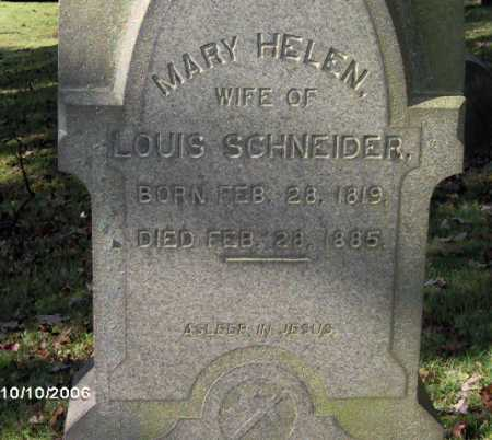 SCHNEIDER, MARY - Lycoming County, Pennsylvania | MARY SCHNEIDER - Pennsylvania Gravestone Photos