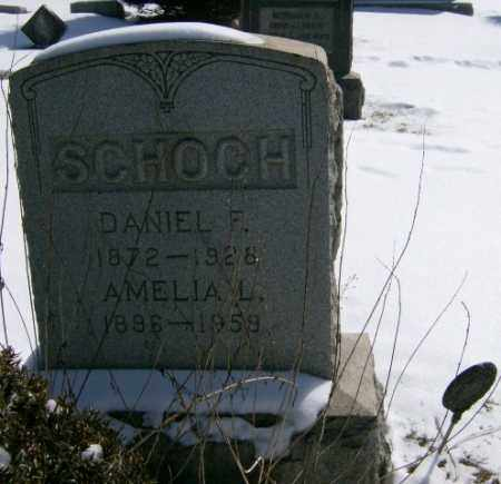SCHOCH, DANIEL - Lycoming County, Pennsylvania | DANIEL SCHOCH - Pennsylvania Gravestone Photos