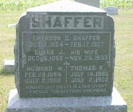 SHAFFER, HOWARD - Lycoming County, Pennsylvania | HOWARD SHAFFER - Pennsylvania Gravestone Photos