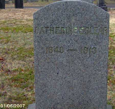 SLEAR, CATHERINE - Lycoming County, Pennsylvania   CATHERINE SLEAR - Pennsylvania Gravestone Photos
