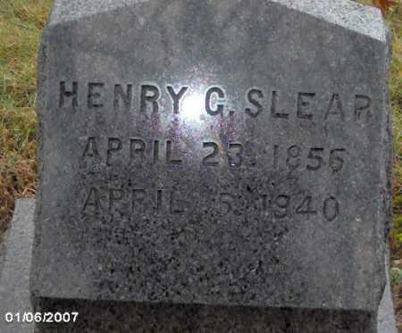 SLEAR, HENRY - Lycoming County, Pennsylvania | HENRY SLEAR - Pennsylvania Gravestone Photos