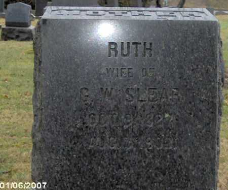 SLEAR, RUTH - Lycoming County, Pennsylvania   RUTH SLEAR - Pennsylvania Gravestone Photos