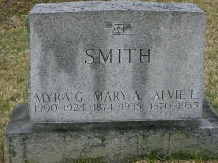 SMITH, MYRA - Lycoming County, Pennsylvania | MYRA SMITH - Pennsylvania Gravestone Photos