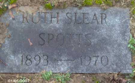 SLEAR SPOTTS, RUTH - Lycoming County, Pennsylvania | RUTH SLEAR SPOTTS - Pennsylvania Gravestone Photos