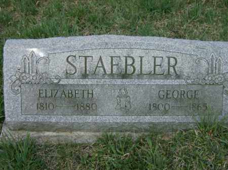 STAEBLER, GEORGE - Lycoming County, Pennsylvania | GEORGE STAEBLER - Pennsylvania Gravestone Photos