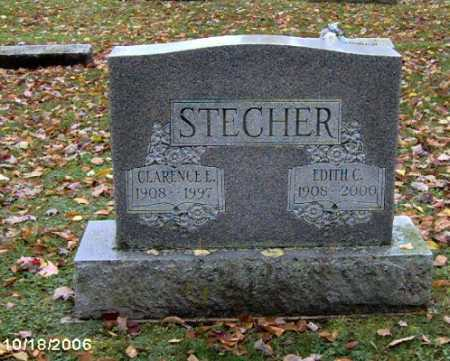 STECHER, CLARENCE - Lycoming County, Pennsylvania | CLARENCE STECHER - Pennsylvania Gravestone Photos