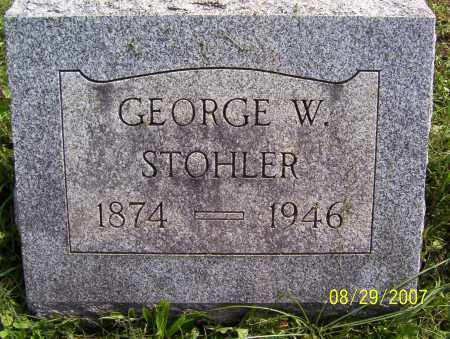 STOHLER, GEORGE - Lycoming County, Pennsylvania | GEORGE STOHLER - Pennsylvania Gravestone Photos