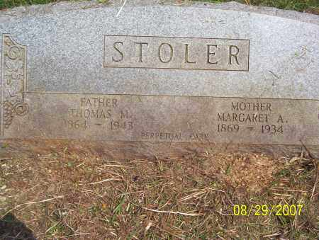 STOLER, THOMAS M. - Lycoming County, Pennsylvania | THOMAS M. STOLER - Pennsylvania Gravestone Photos