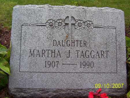 TAGGART, MARTHA - Lycoming County, Pennsylvania | MARTHA TAGGART - Pennsylvania Gravestone Photos