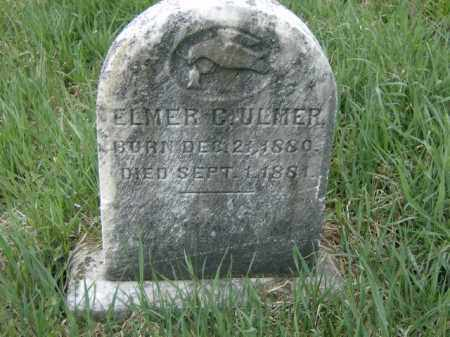 ULMER, ELMER - Lycoming County, Pennsylvania | ELMER ULMER - Pennsylvania Gravestone Photos