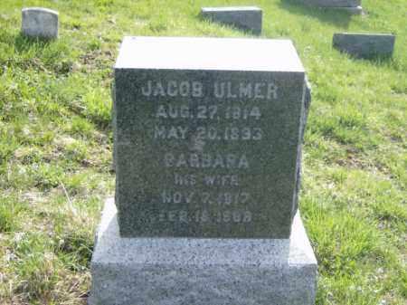 ULMER, JACOB - Lycoming County, Pennsylvania | JACOB ULMER - Pennsylvania Gravestone Photos