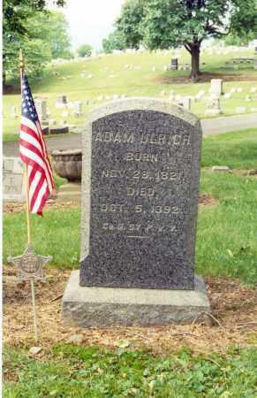 ULRICH (CW), ADAM - Lycoming County, Pennsylvania   ADAM ULRICH (CW) - Pennsylvania Gravestone Photos