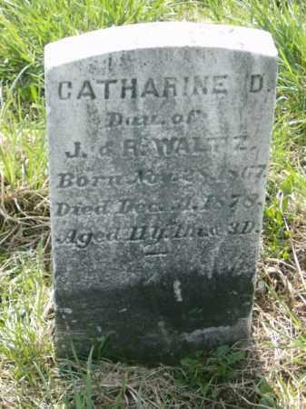 WALTZ, CATHARINE - Lycoming County, Pennsylvania | CATHARINE WALTZ - Pennsylvania Gravestone Photos