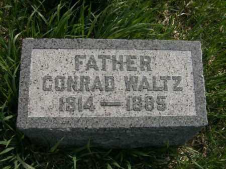 WALTZ, CONRAD - Lycoming County, Pennsylvania | CONRAD WALTZ - Pennsylvania Gravestone Photos