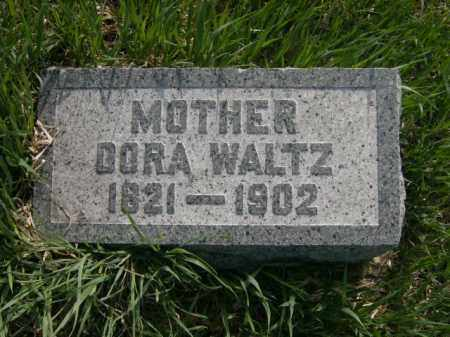WALTZ, DORA - Lycoming County, Pennsylvania | DORA WALTZ - Pennsylvania Gravestone Photos