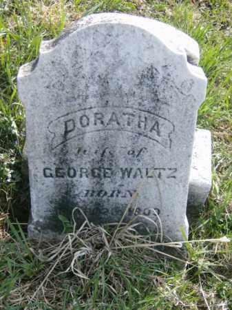WALTZ, DORATHA - Lycoming County, Pennsylvania | DORATHA WALTZ - Pennsylvania Gravestone Photos