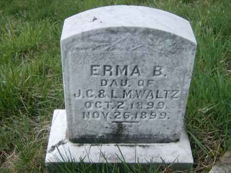 WALTZ, ERMA - Lycoming County, Pennsylvania | ERMA WALTZ - Pennsylvania Gravestone Photos