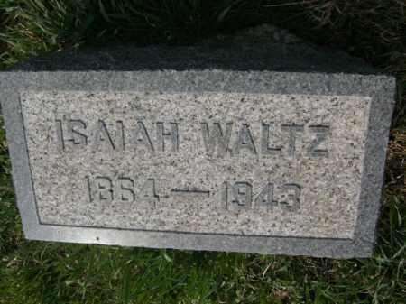 WALTZ, ISAIAH - Lycoming County, Pennsylvania | ISAIAH WALTZ - Pennsylvania Gravestone Photos