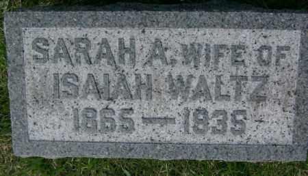 WALTZ, SARAH - Lycoming County, Pennsylvania | SARAH WALTZ - Pennsylvania Gravestone Photos