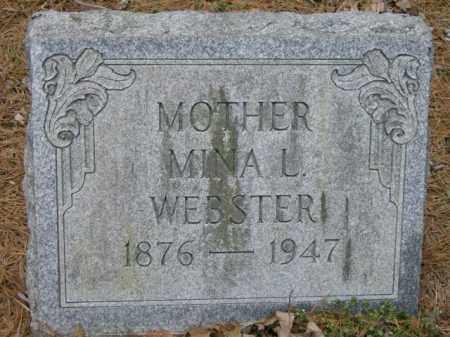 WEBSTER, MINA - Lycoming County, Pennsylvania | MINA WEBSTER - Pennsylvania Gravestone Photos