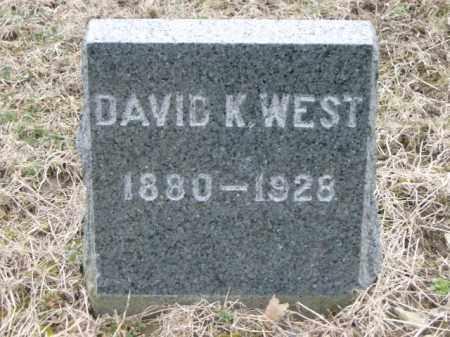 WEST, DAVID - Lycoming County, Pennsylvania | DAVID WEST - Pennsylvania Gravestone Photos