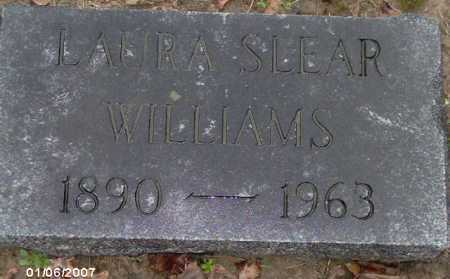 SLEAR WILLIAMS, LAURA - Lycoming County, Pennsylvania | LAURA SLEAR WILLIAMS - Pennsylvania Gravestone Photos