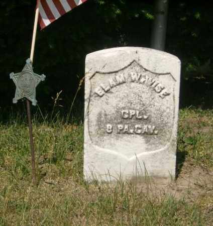 WISE, ELAM - Lycoming County, Pennsylvania | ELAM WISE - Pennsylvania Gravestone Photos