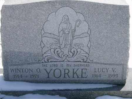 YORKE, LUCY - Lycoming County, Pennsylvania   LUCY YORKE - Pennsylvania Gravestone Photos