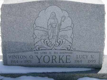 YORKE, WINTON - Lycoming County, Pennsylvania | WINTON YORKE - Pennsylvania Gravestone Photos