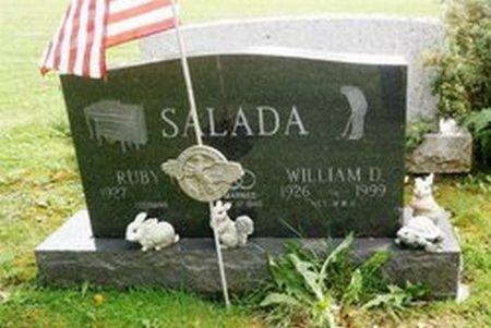 SALADA, WILLIAM D. - Mc Kean County, Pennsylvania   WILLIAM D. SALADA - Pennsylvania Gravestone Photos