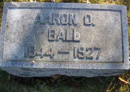 BALL, AARON O. - Monroe County, Pennsylvania   AARON O. BALL - Pennsylvania Gravestone Photos