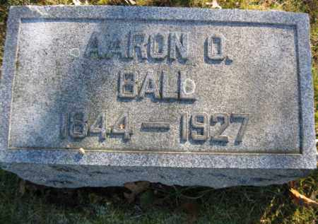 BALL, AARON O. - Monroe County, Pennsylvania | AARON O. BALL - Pennsylvania Gravestone Photos