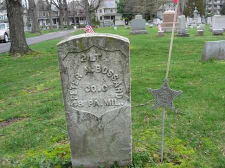BOSSARD, LT.PETER A. - Monroe County, Pennsylvania   LT.PETER A. BOSSARD - Pennsylvania Gravestone Photos