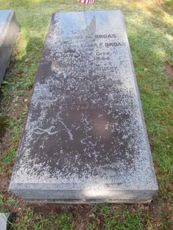 BROAS (CW), RICHARD  M. - Monroe County, Pennsylvania | RICHARD  M. BROAS (CW) - Pennsylvania Gravestone Photos