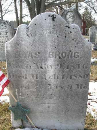 BRONG, ELIAS - Monroe County, Pennsylvania | ELIAS BRONG - Pennsylvania Gravestone Photos