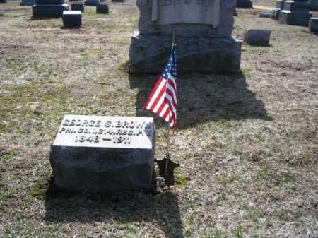 BROWN, GEORGE S. - Monroe County, Pennsylvania   GEORGE S. BROWN - Pennsylvania Gravestone Photos
