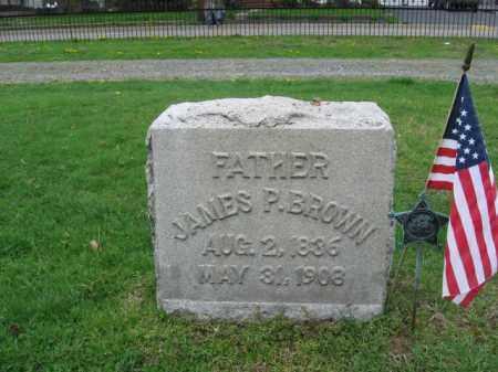 BROWN, JAMES P. - Monroe County, Pennsylvania   JAMES P. BROWN - Pennsylvania Gravestone Photos