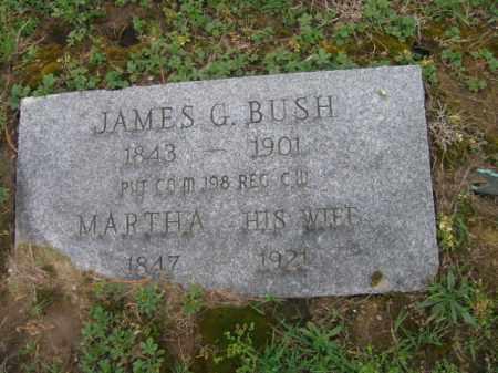 BUSH, JAMES G. - Monroe County, Pennsylvania   JAMES G. BUSH - Pennsylvania Gravestone Photos