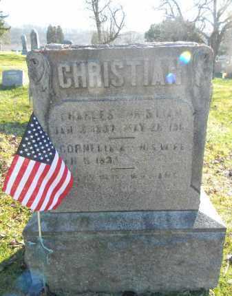 CHRISTIAN (CW), CHARLES - Monroe County, Pennsylvania | CHARLES CHRISTIAN (CW) - Pennsylvania Gravestone Photos