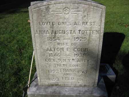 COBB (CW), ALTON E. - Monroe County, Pennsylvania   ALTON E. COBB (CW) - Pennsylvania Gravestone Photos