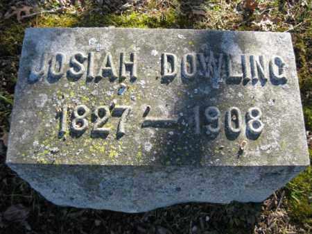 DOWLING, JOSIAH - Monroe County, Pennsylvania | JOSIAH DOWLING - Pennsylvania Gravestone Photos