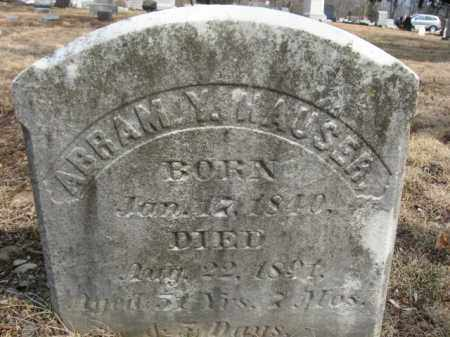 HAUSER, ABRAM Y. - Monroe County, Pennsylvania | ABRAM Y. HAUSER - Pennsylvania Gravestone Photos